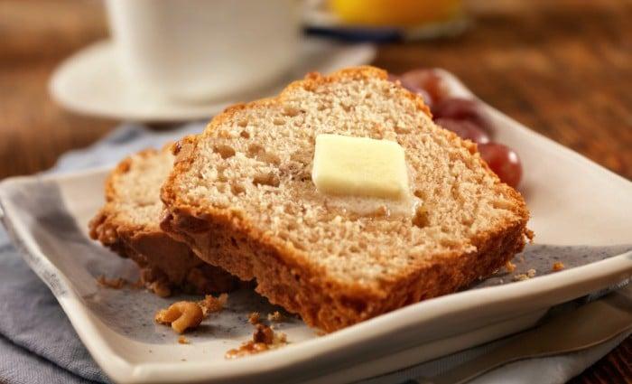 Banana Bread Two Ways – Whole Wheat or Gluten Free