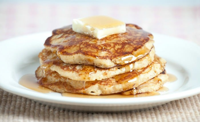 Whole Wheat Buttermilk Pancakes