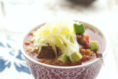 Quick Weeknight Chili