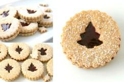 Almond Linzer Cookies II