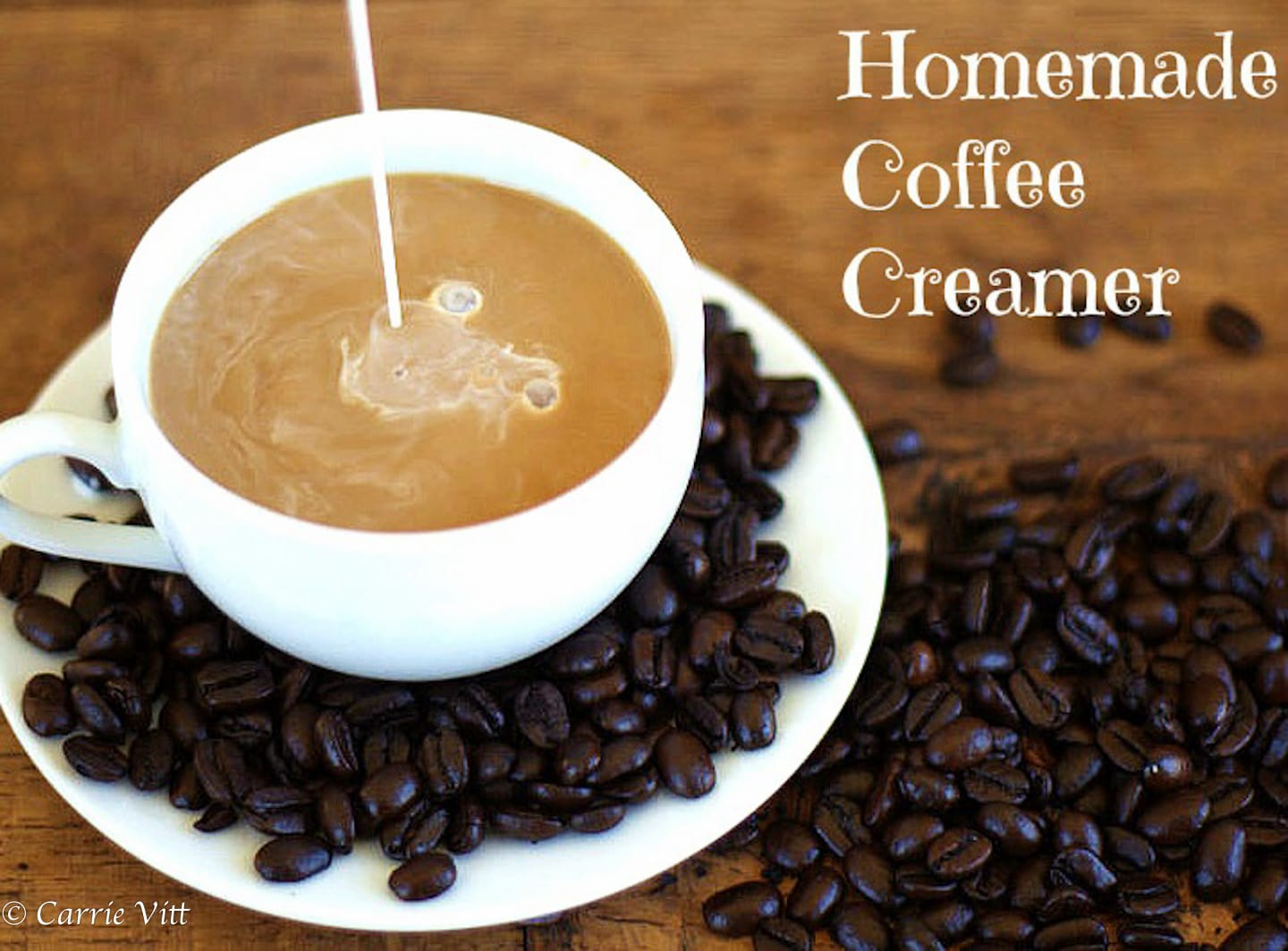 Homemade Coffee Creamer: Cinnamon Strudel
