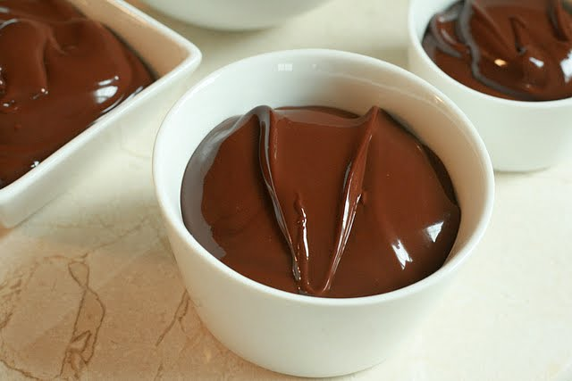 This creamy, thick, chocolate pudding is the best just after it's blended and still warm. You can pour small individual servings into shot glasses and serve with tiny spoons for a perfect party dish!