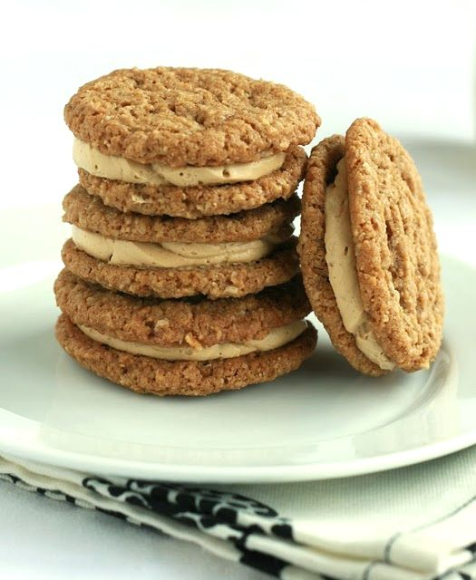 Oatmeal Cream Pies via DeliciouslyOrganic.net