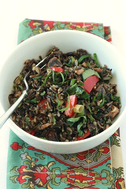 Acronyms and Wild Rice Thai Salad