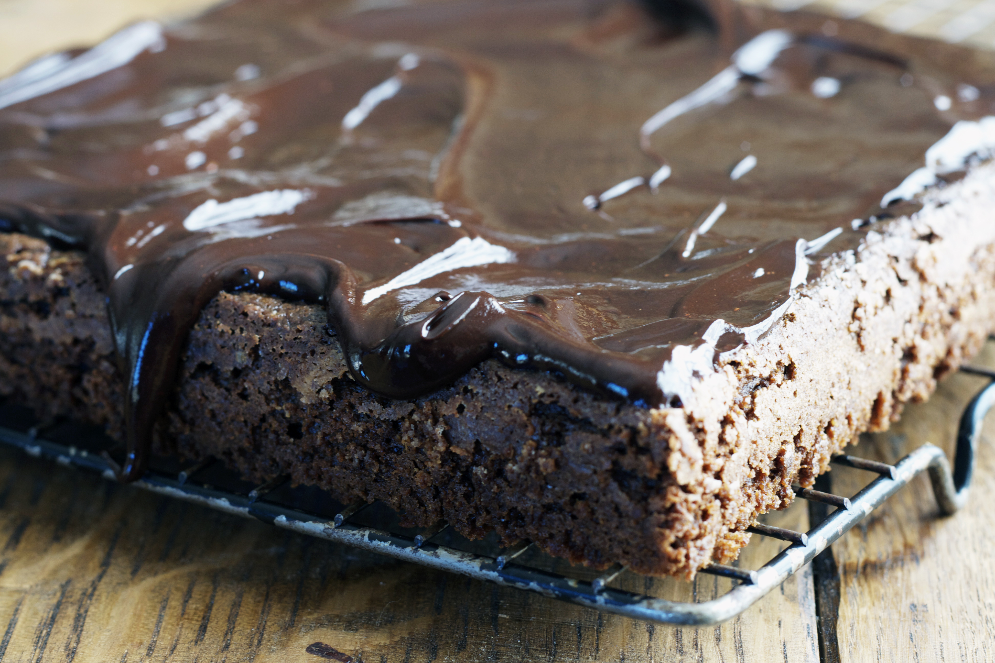 Stout and Chocolate Cake with Chocolate-Stout Glaze