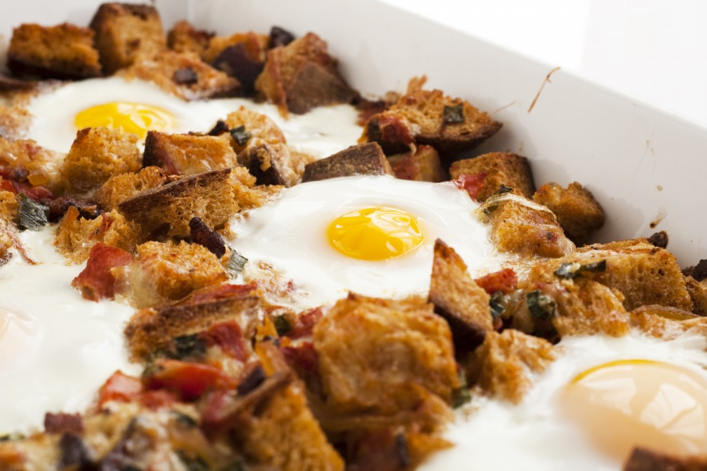This breakfast bake is amazing and perfect for company because you can prep it ahead of time!