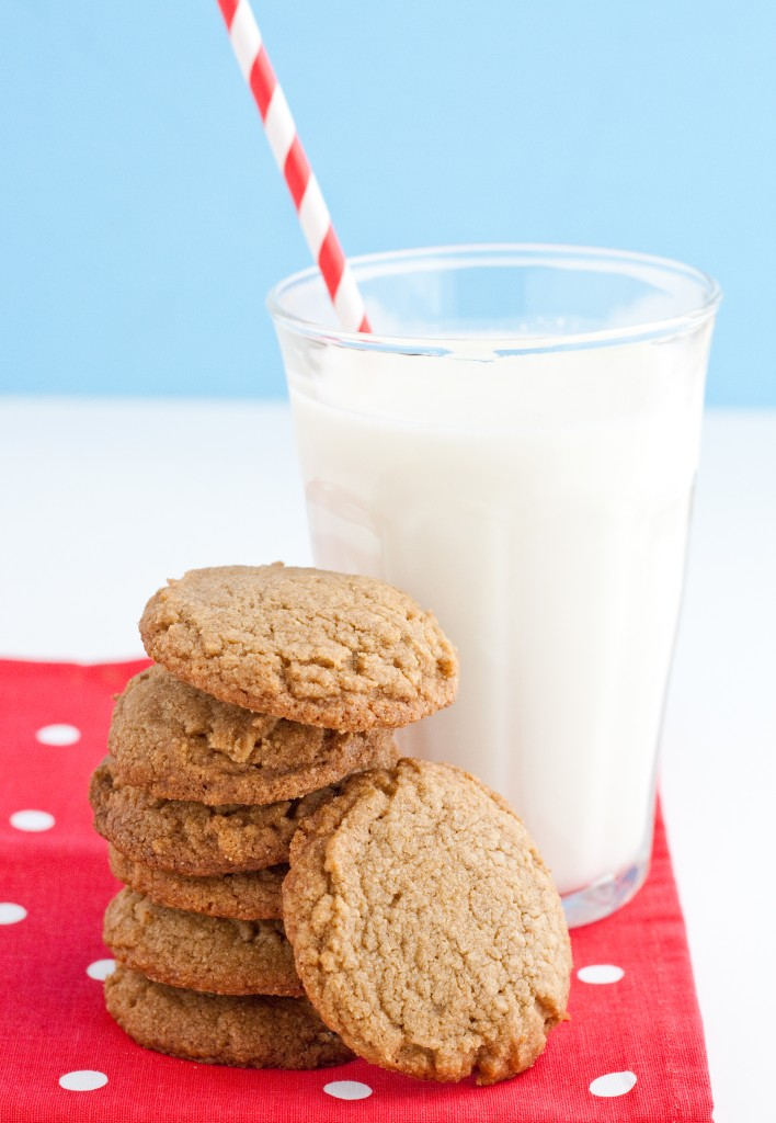Kamut flour gives these cookies a unique texture. This flour offers more protein than other flours!