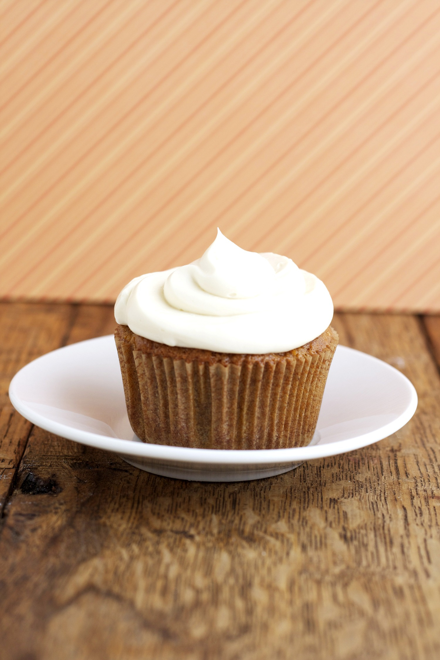 Gluten Free Carrot Cake Cupcakes with Maple Cream Cheese Frosting
