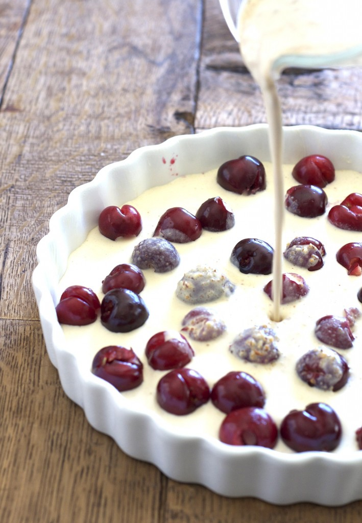 Channel your inner Julia Child with this cherry clafouti recipe! It's a super easy recipe that will wow your friends!
