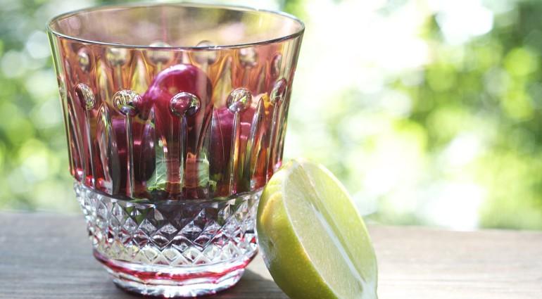 Organic, Real Food on a Budget – Cherry Mojito