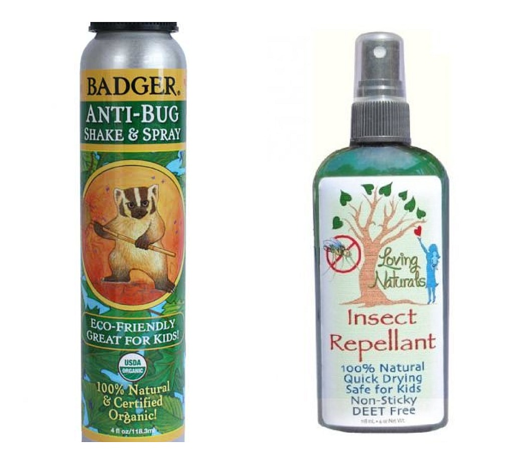 Organic insect repellant