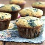 Thumbnail image for Blueberry Muffins – Two Ways – Gluten Free or Whole Wheat