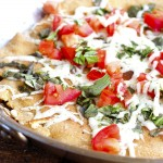 Thumbnail image for Quick Skillet Whole Wheat Pizza