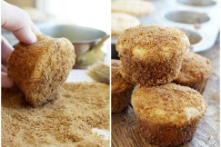 Doughnut Muffin Collage