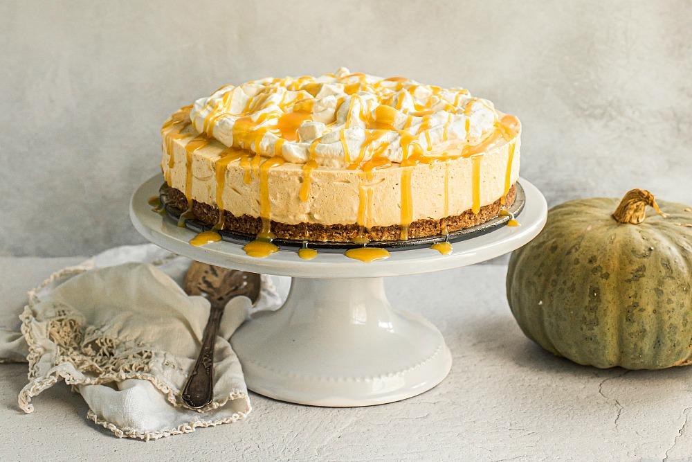 Pumpkin Cheesecake (Grain Free, Gluten Free)