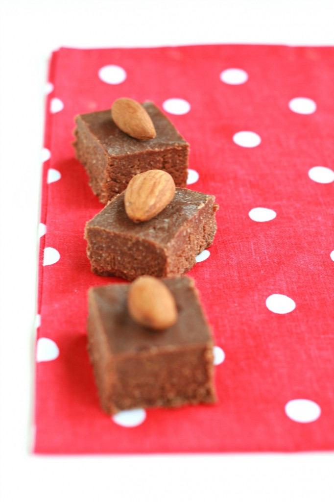 The almond coconut fudge is subtly sweet, has a nice cocoa flavor, and a hint of almond. An uncomplicated fudge recipe that tastes delicious