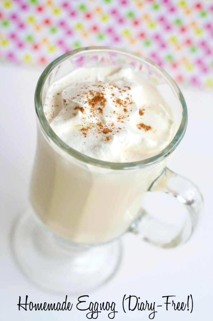 This eggnog recipe uses cooked eggs to create a caramel-custard flavor that can't be matched with raw egg yolks. I prefer the eggnog spiked with a little brandy and sprinkled with a bit of nutmeg.