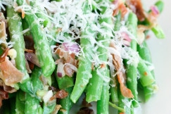 Green Beans with Procuitto