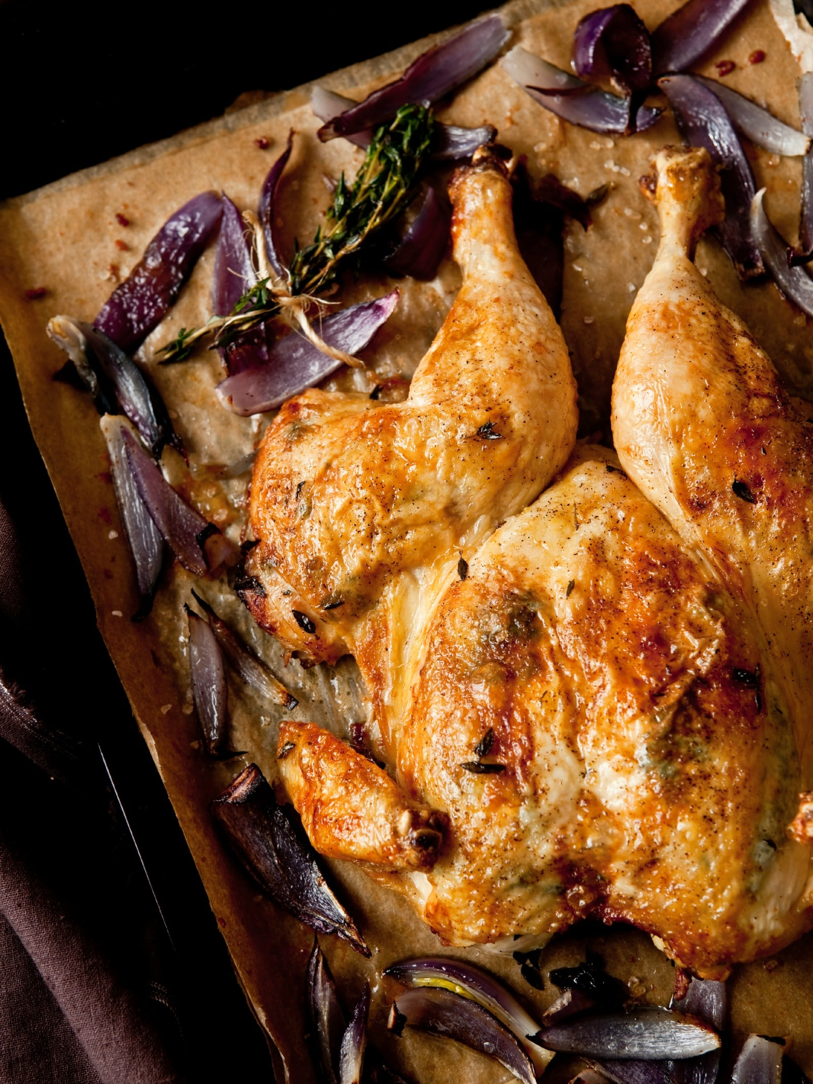 Butterflied Roast Chicken With Red Onions Deliciously Organic,Cute Bedroom Ideas For Tween Girls
