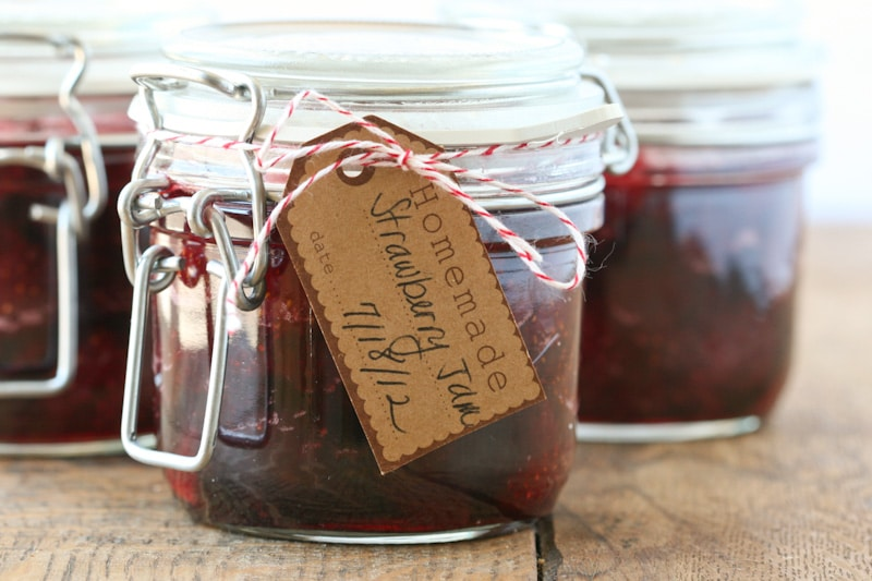 Strawberry Jam via DeliciouslyOrganic.net