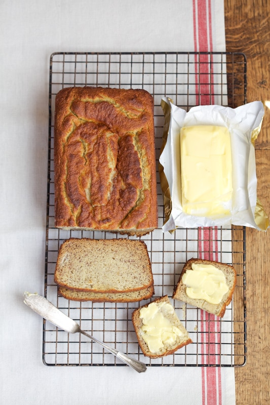 Banana Bread via DeliciouslyOrgnanic.net #paleo #grainfree