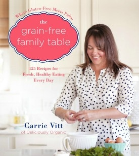 Grain-Free Family Table Widget