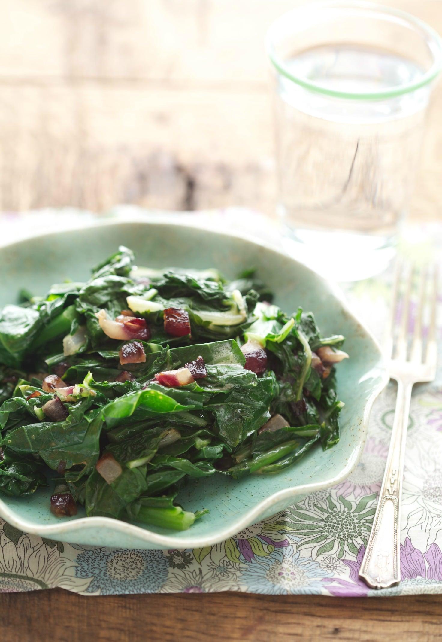 Sautéed Leafy Greens