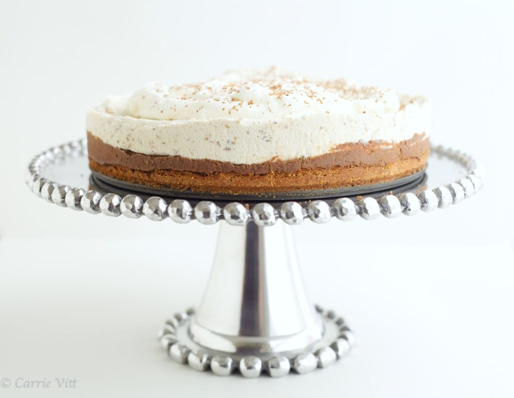 Chocolate Chestnut Mousse Cake via DeliciouslyOrganic.net #paleo #grainfree