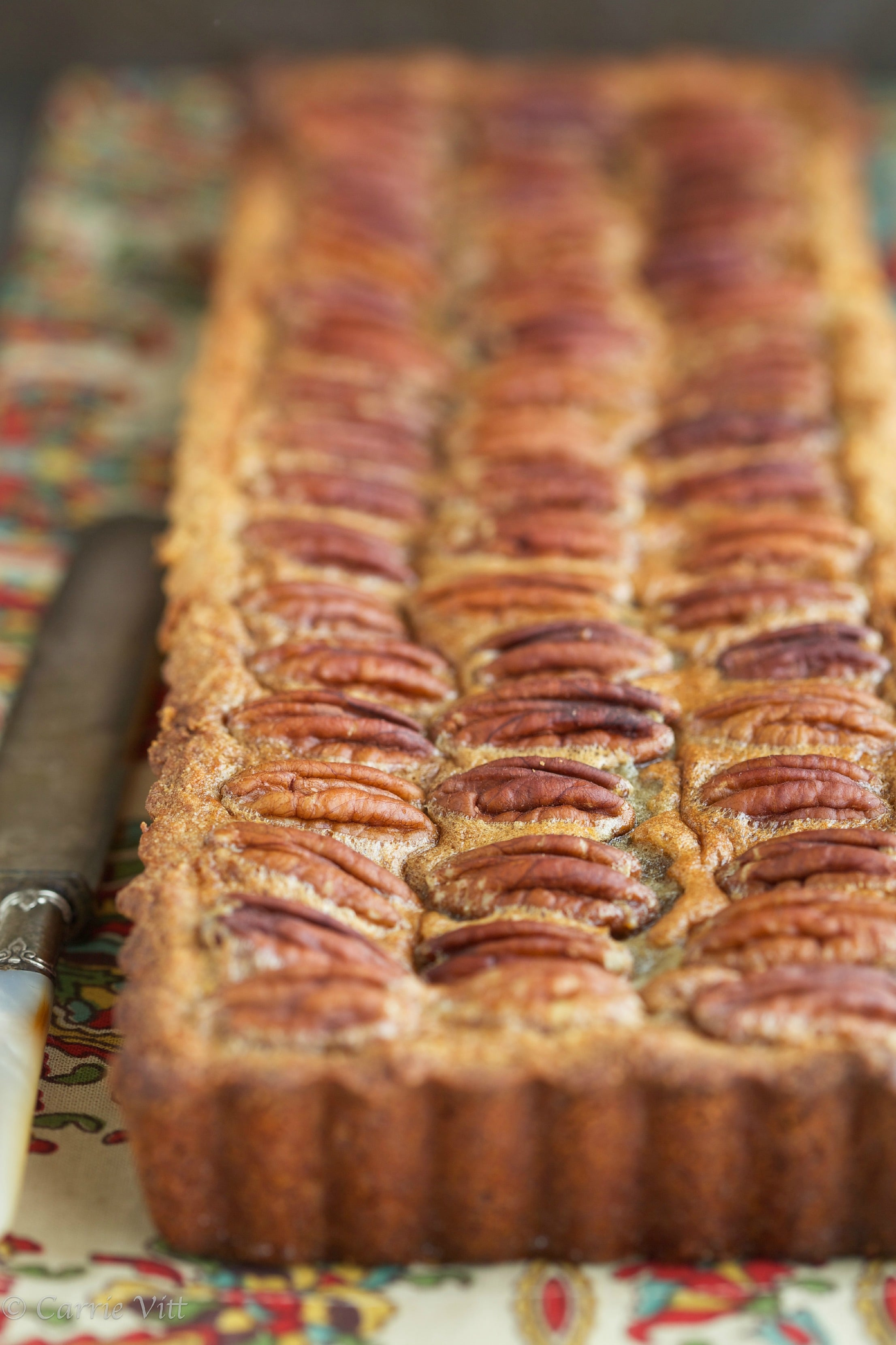 Pecan Pie without Corn Syrup (Grain Free, Paleo, Primal, Gluten Free)