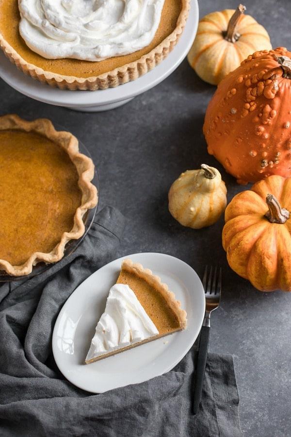 Pumpkin Pie (Grain Free, Paleo, Primal, Gaps)