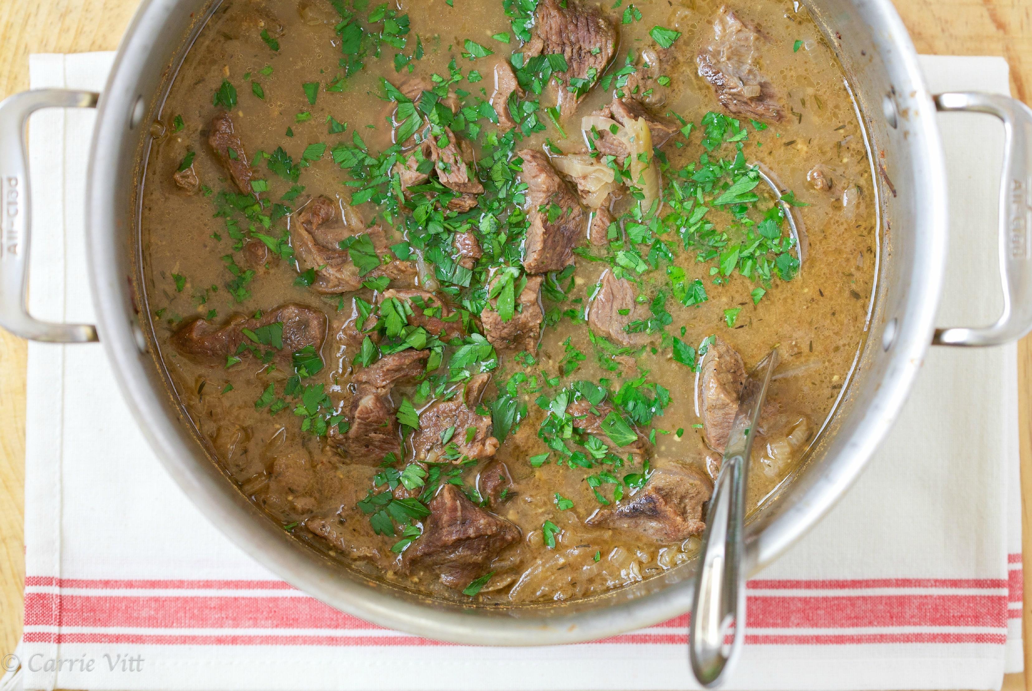 Beef Stew (Grain Free, Gluten Free, Gaps, Paleo, Primal)