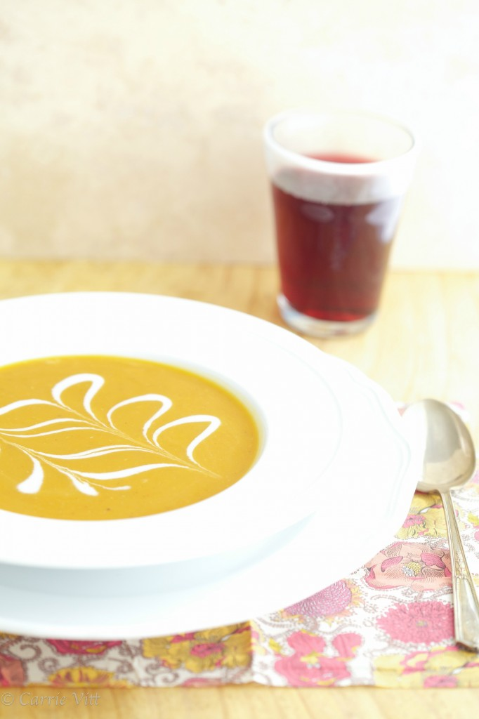 Butternut Squash Soup is a creamy, slightly sweet soup that's perfect for the cooler months.