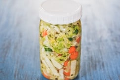How to Make Lacto-Fermented Vegetables via DeliciouslyOrganic.net