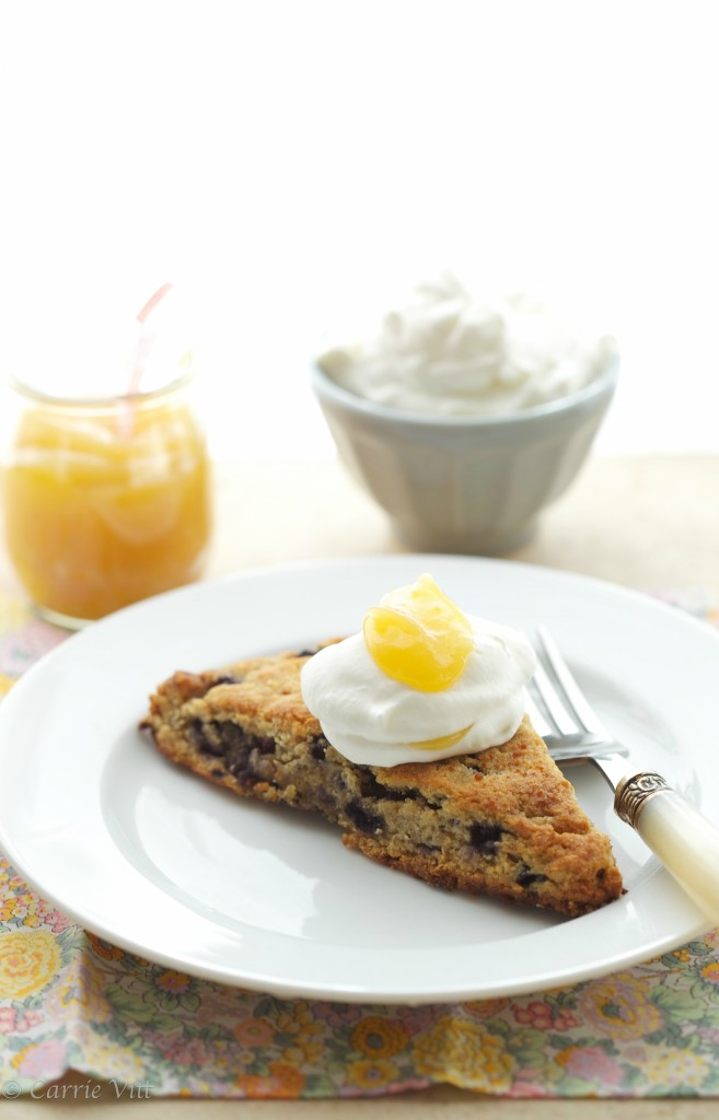 These blueberry scones are so buttery and light that they will melt in your mouth! And pairing them with the lemon curd just takes them to the next level!