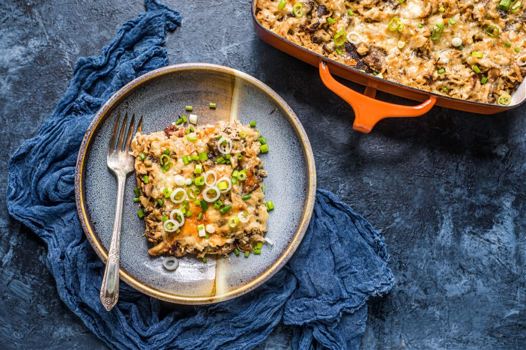 "Chicken and ""Rice"" Casserole (Grain-Free)"