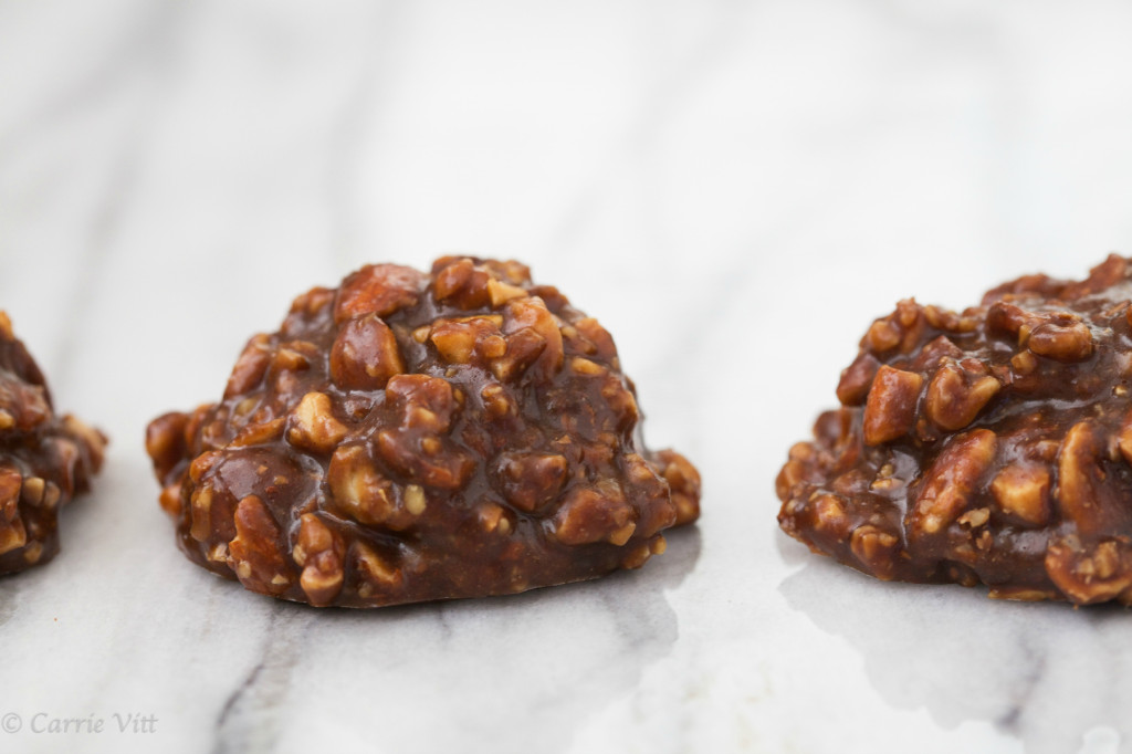 No Bake Cookies via www.DeliciouslyOrganic.net #paleo #grainfree