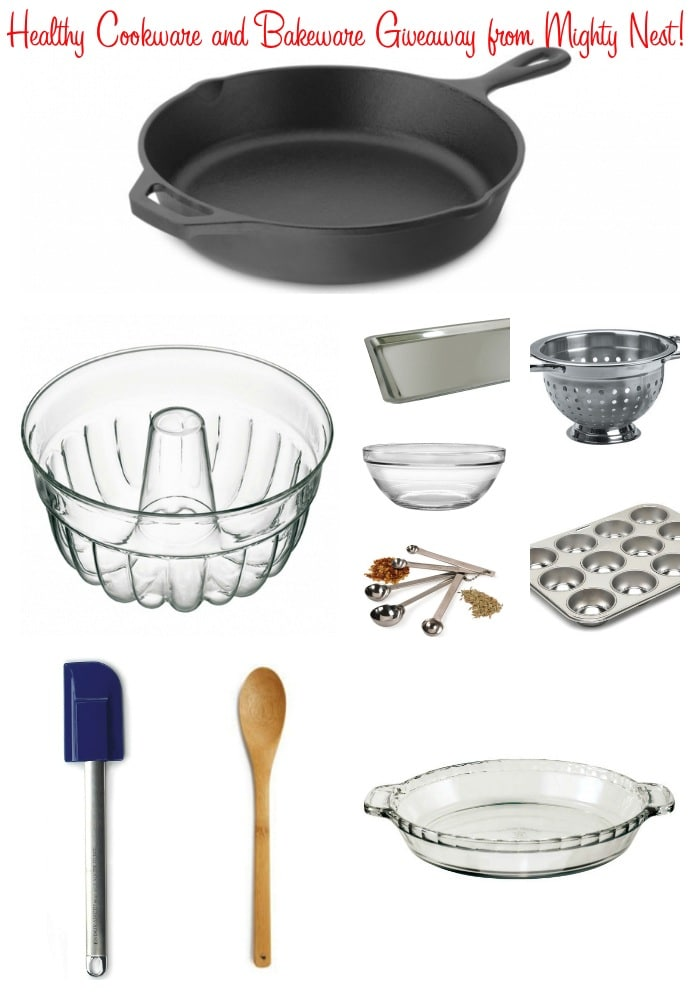 Healthy Cookware and Bakeware Giveaway from Mighty Nest