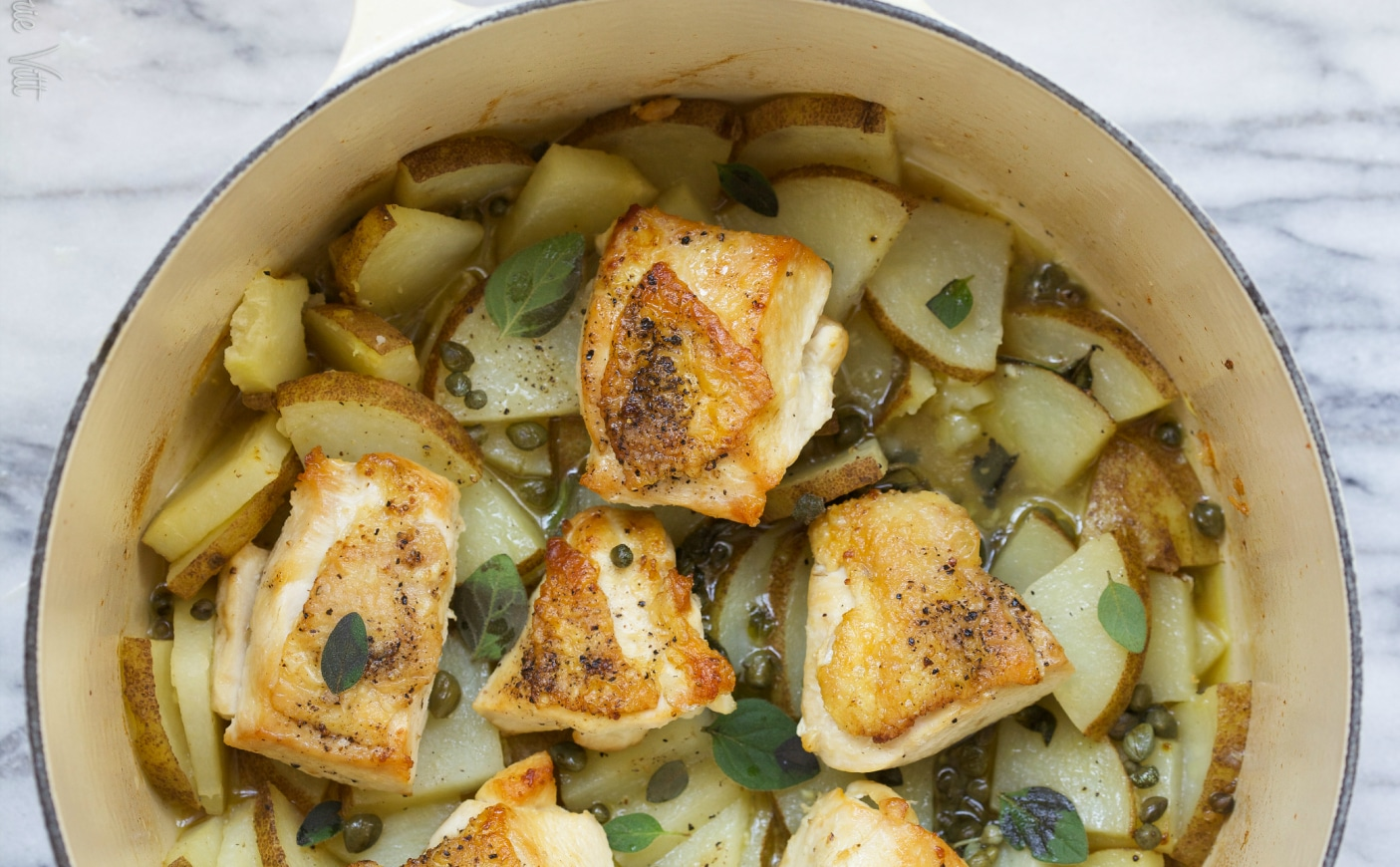One-Pot Chicken and Potatoes - Deliciously Organic