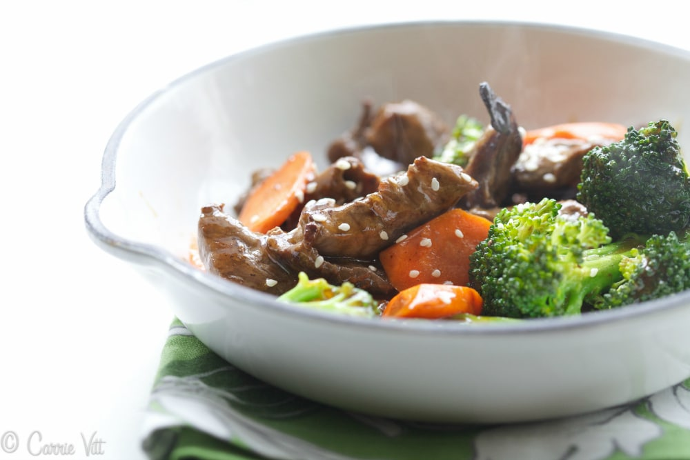 Beef and Broccoli Stir-Fry (paleo, grain free)