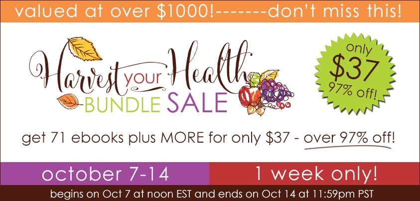 Harvest Your Health Ebook Sale