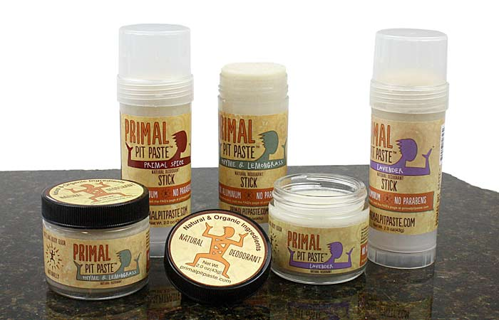 No need to worry about making your own deodorant when there are companies like Primal Pit Paste offer deodorants that contain only healthy, organic and truly natural ingredients and can be used by the entire family.