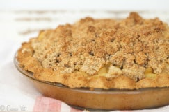 Grain Free Apple Pie via DeliciouslyOrganic.net (Paleo, Gluten Free)