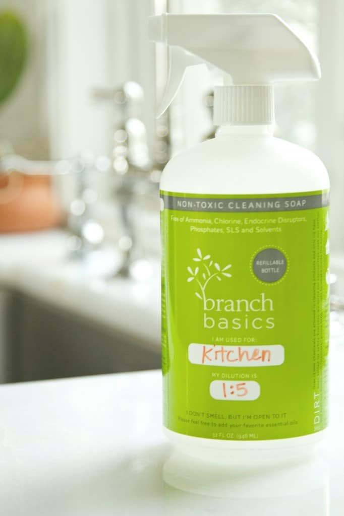 Branch Basics My Favorite Non Toxic All Purpose Cleaner Fall Sale Deliciously Organic