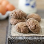 Thumbnail image for The Perfect Molasses Cookie (Grain Free, Paleo, Gluten Free)