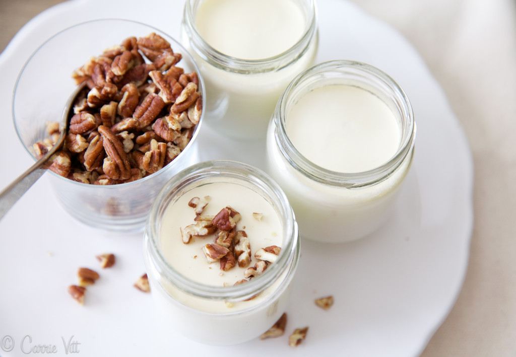 For many years my homemade yogurt just wasn't as thick as store-bought yogurt. Then I tried this one little trick and it worked perfectly!