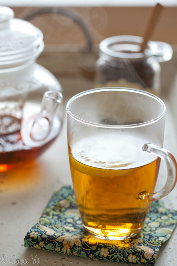 How to Make a Perfect Pot of Tea - I looked for the 'right' teapot for years. When I saw this glass beauty a few months ago, I knew it was the one. The simple, classic shape doesn't leach anything strange into the tea.