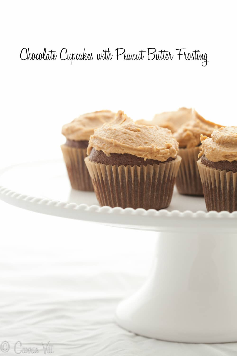 Peanut-Butter And Chocolate Frosted Cupcakes Recipes — Dishmaps