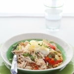 Crock Pot Chicken Fajita Bowl (Grain-Free, Paleo)