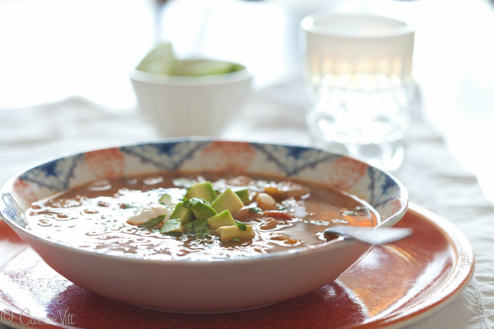 White Bean Chicken Chili Horizontal Small