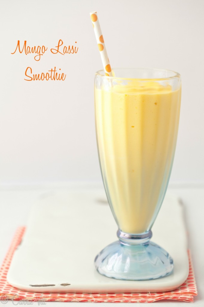 You can freeze the mango the night before so it's ready to go in the morning for your Mango Lassi Smoothie. As for variations, try adding some berries or flaxseed oil for added flavor and nutrients.